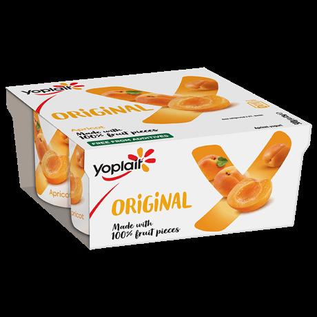 Yoplait Original Apricot 4-pack