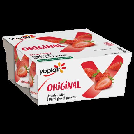Yoplait Original Strawberry 4-pack