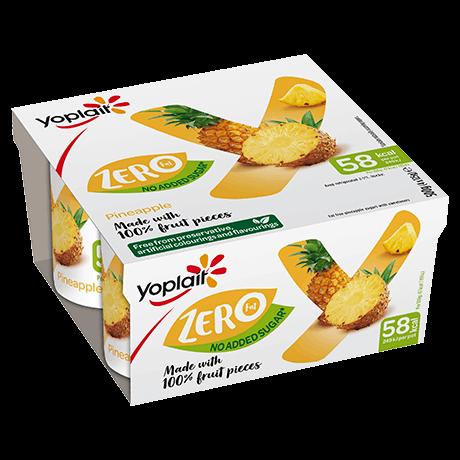 Yoplait Zero Pineapple 4-pack