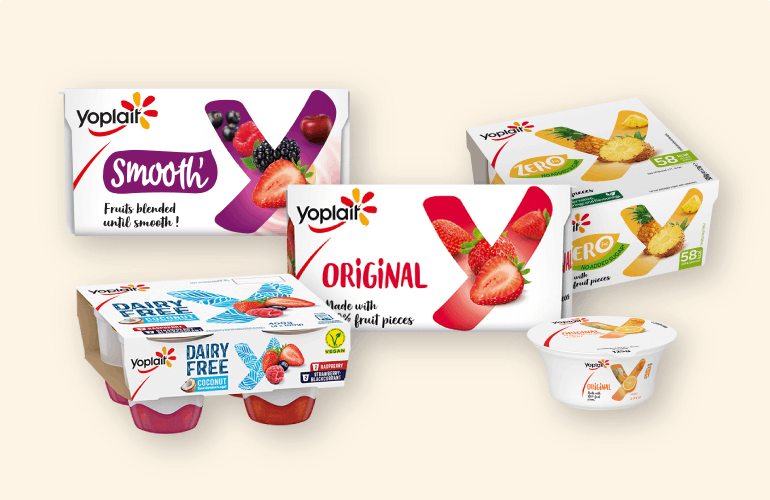 Yoplait Our History Dairy Products